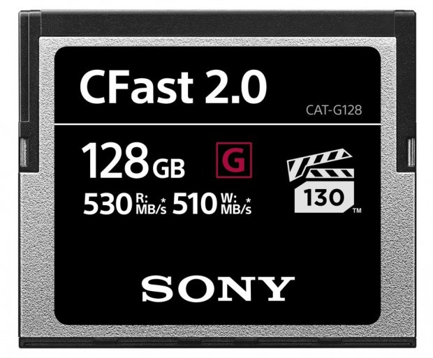 Sony представила карты CFast 2.0