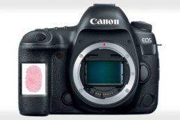 Canon может добавить сканер отпечатков пальцев