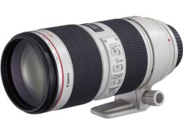Canon EF 70-200mm IS F2.8L III представят в 2018