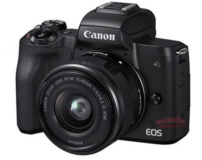 Утечка фото нового Canon EOS М50