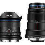 Venus Optics представляет Laowa 9mm F2.8 Zero-D и 25mm F2.8 2.5-5x