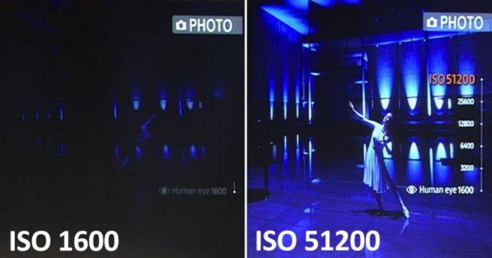 Sony показывает камеру смартфона с ISO 51200