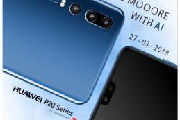 Тизер Huawei P20 с тройной камерой