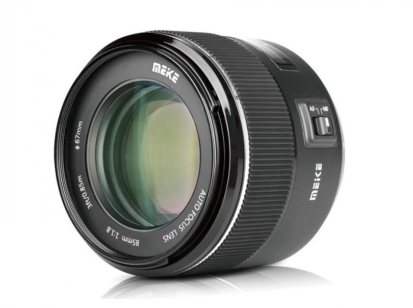 Meike объявила первый автофокусный MK 85mm f/1.8 AF для Canon