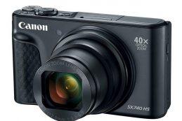 Компактный Canon SX740 HS с 40x зумом и 4K-видео