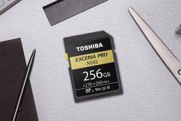 Карты памяти Toshiba UHS-II EXCERIA Pro SD