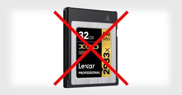 Lexar обвиняет Sony в торможении прогресса