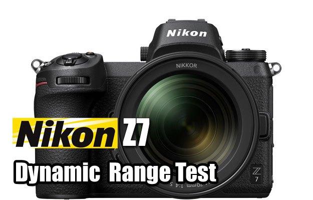 Сравнение динамического диапазона Nikon Z7 и D850
