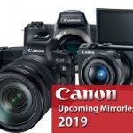 Будущие беззеркальные камеры Canon в 2019 году