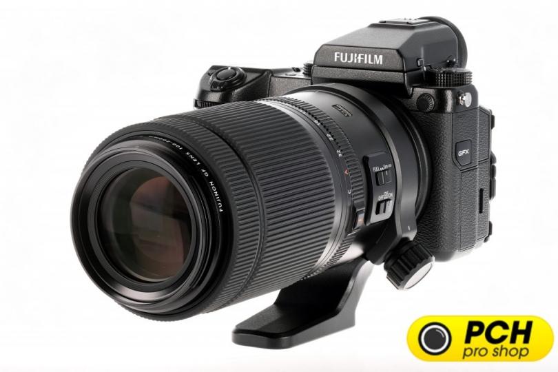 Первые изображения Fujinon GF100-200mm F5.6 R LM OIS WR