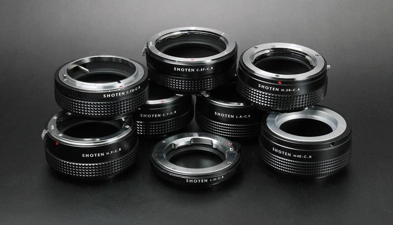 Новые адаптеры Shoten для камер Canon EOS R