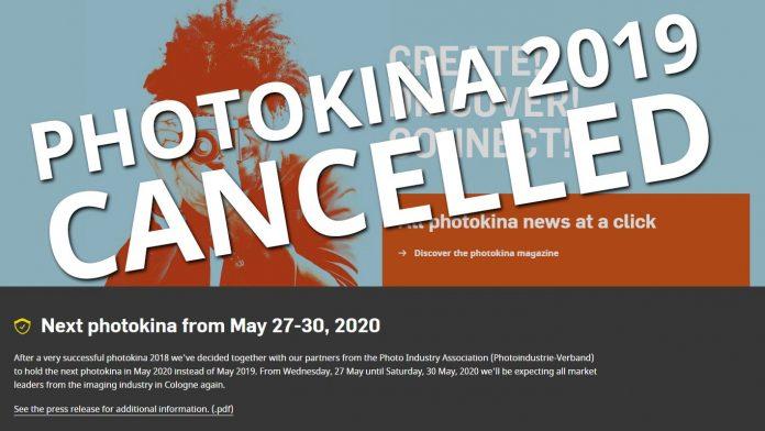 Photokina в 2019 году не будет