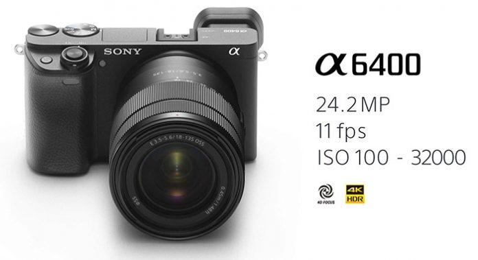 Sony представила новую камеру A6400