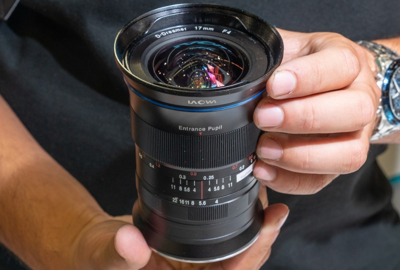 Laowa 17mm f/4 Zero-D поступит в продажу в марте