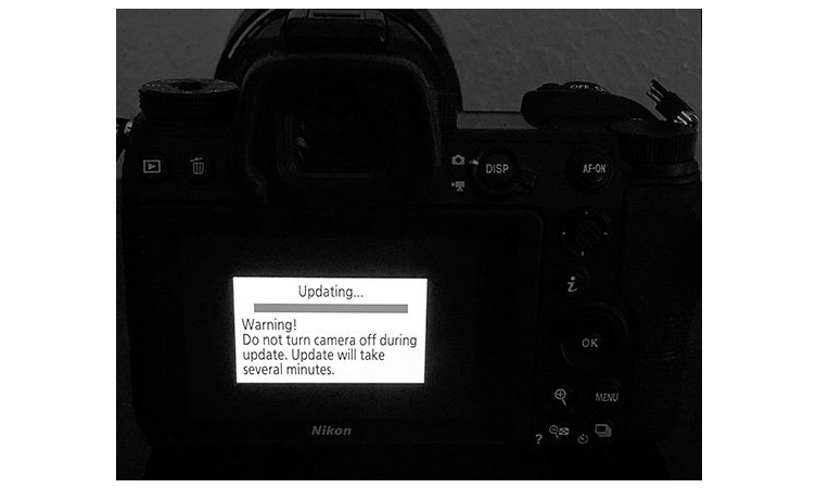 Nikon выпустила новые прошивки для D600, D610 и D750