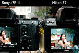 Автофокусировка по глазам Sony vs Nikon