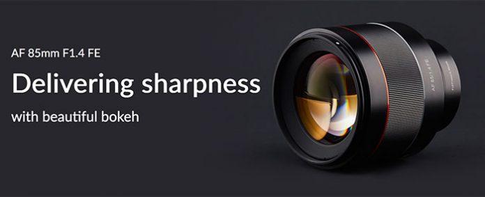 Samyang официально представили объектив 85mm F/1.4