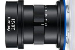 Zeiss Ventum 21 мм f2.8 E-mount создан для дронов