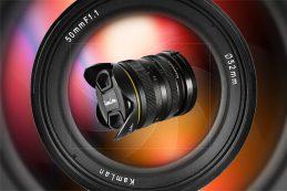Анонс объектива Kamlan 50mm f1.1 II FE