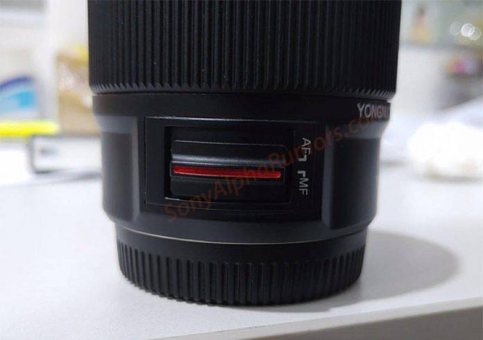 Yongnuo представит объектив 50mm f/1.8 для камер Sony