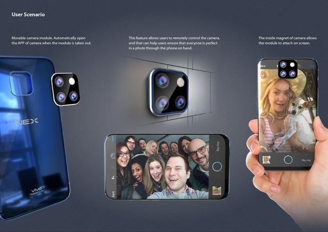 Смартфон Vivo NEX 2 может получить отсоединяемую камеру