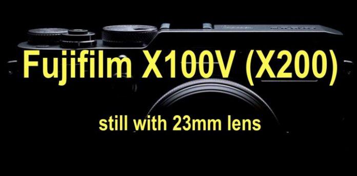 Будущая Fujifilm X100V (X200) получит 23мм объектив