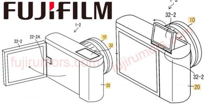 Fujifilm запатентовали поворотный экран