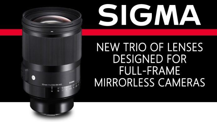 Sigma анонсировала объективы 35mm f/1.2, 14-24mm и 45mm f/2.8 для Sony E