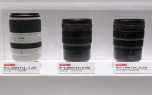 Canon скоро анонсирует RF 15-35mm f2.8L IS и 24-70mm f2.8L IS