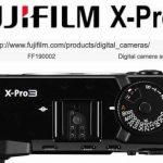 Fujifilm X-Pro3 зарегистрировали в сети