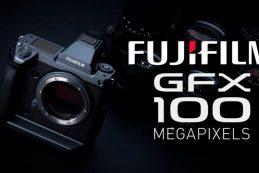 Fujifilm GFX 100 — новый флагман с матрицей крупного формата