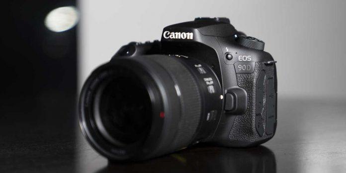 Динамический диапазон Canon 90D чуть лучше чем у 80D
