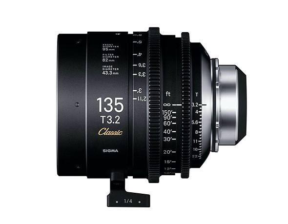 Sigma анонсировала линейку объективов Art Cine Classic