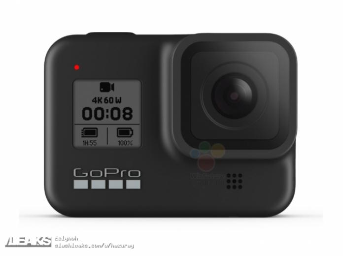 Официальные изображения GoPro Hero 8 и GoPro Max