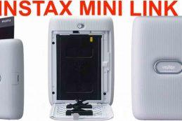 Fujifilm представит карманный фотопринтер Instax Mini Link