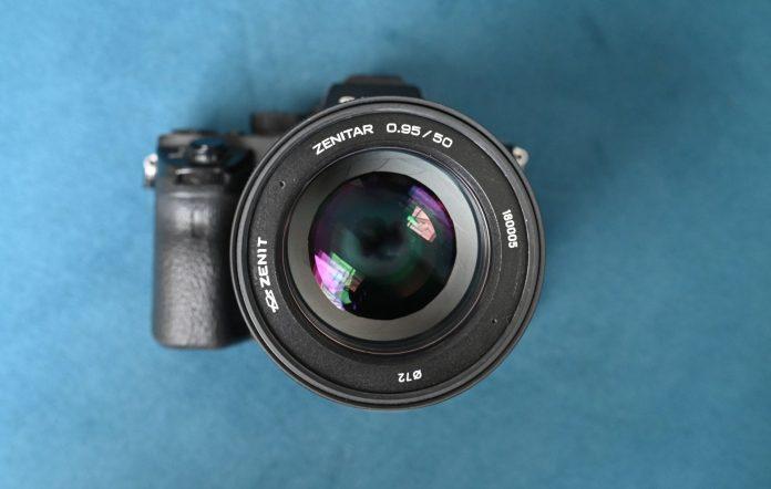 Объектив Zenitar 50mm f/0.95 появился в продаже в США
