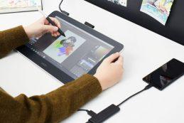 Wacom анонсировали новый дисплей-планшет
