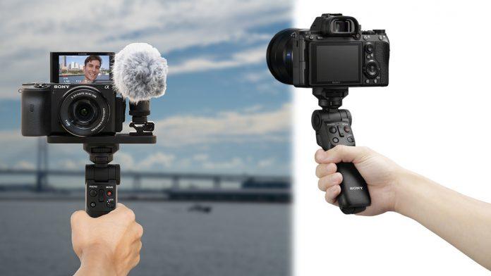 Sony представили штатив-монопод для съемки блогов