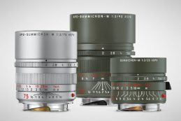 Leica анонсировала три лимитированных объектива для байонета М