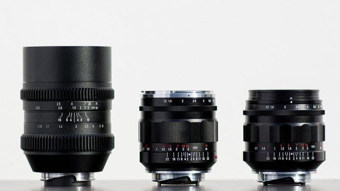 Скоро состоится анонс линз Voigtlander Nokton 35mm F/1.2 III и Nokton 60mm f/0.95