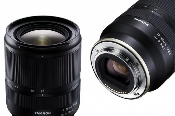 TAMRON обновляет прошивку 17-28mm F/2.8 Di III RXD