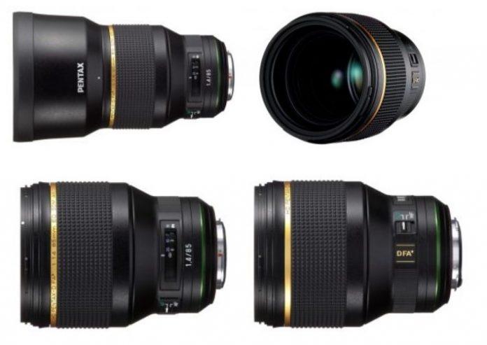 Анонсирована разработка объектива HD PENTAX-D FA 85mm F1.4 SDM AW