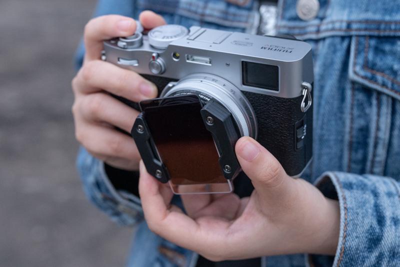 NiSi выпустила систему фильтров для линейки Fujifilm X100