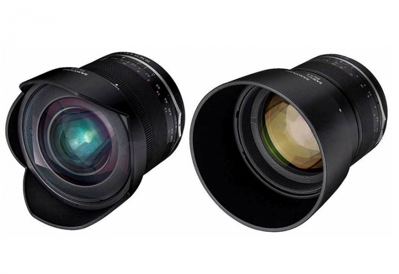 Спецификации Samyang MF 14mm f/2.8 UMC II и MF 85mm f/1.4 UMC II