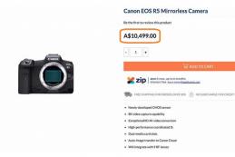 Названа стоимость Canon EOS R5