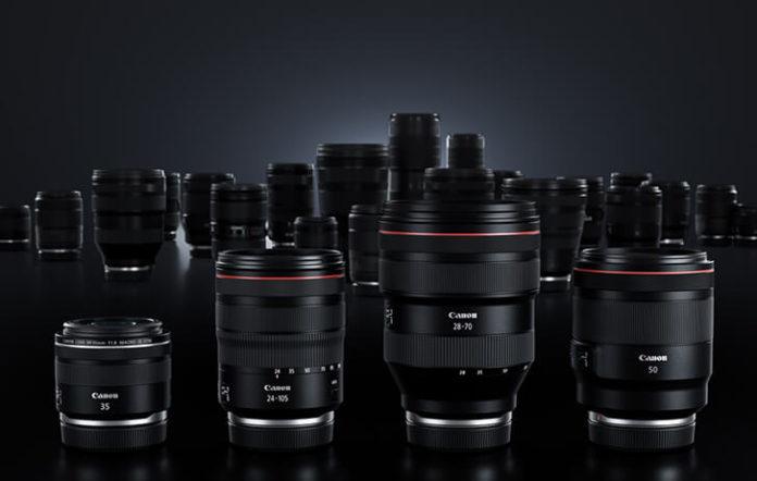 Объектив Canon RF 18-24mm F/4 STM будет представлен в 2021 году