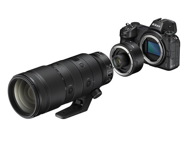Представлены телеконвертеры Nikon Z-mount  TC-1.4x и TC-2.0x