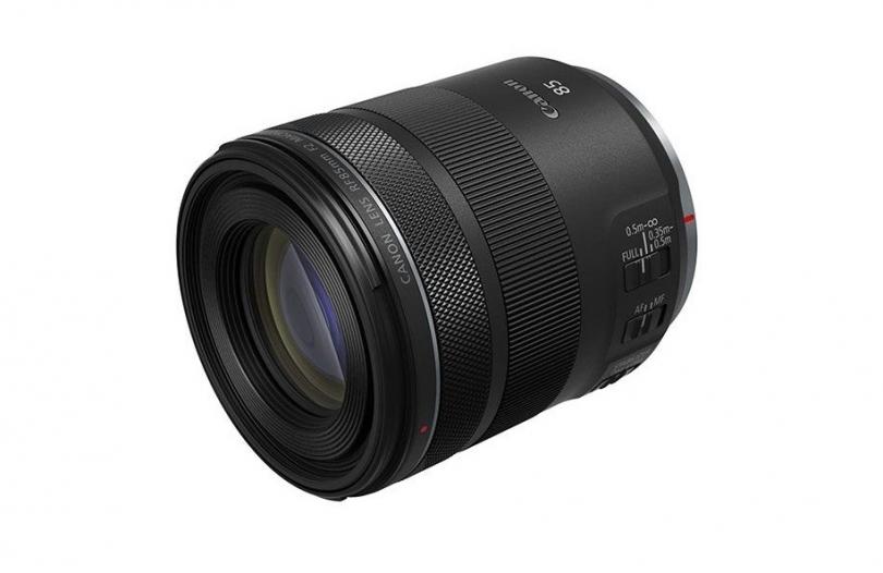 Canon представляет новый объектив RF 85mm f/2 Macro IS STM