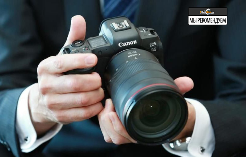Названа российская цена Canon EOS R5