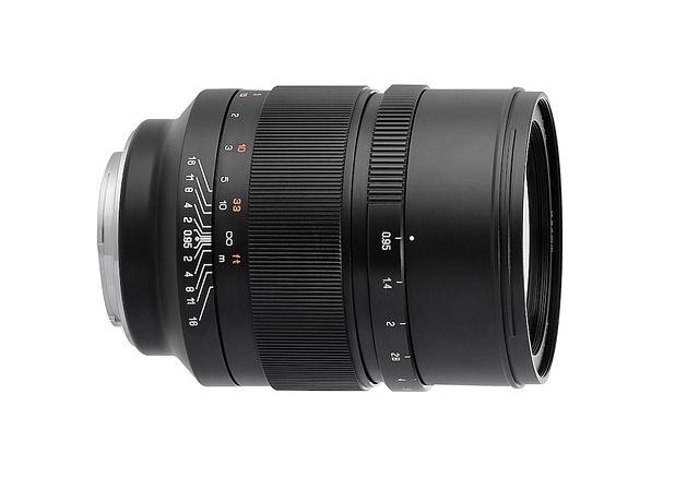 ZY Optics объявила 50mm F0.95 'Speedmaster' для Canon EF